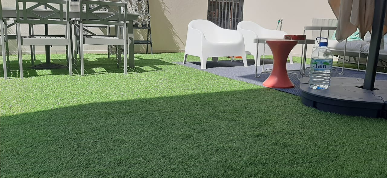 Artificial Grass Fitting